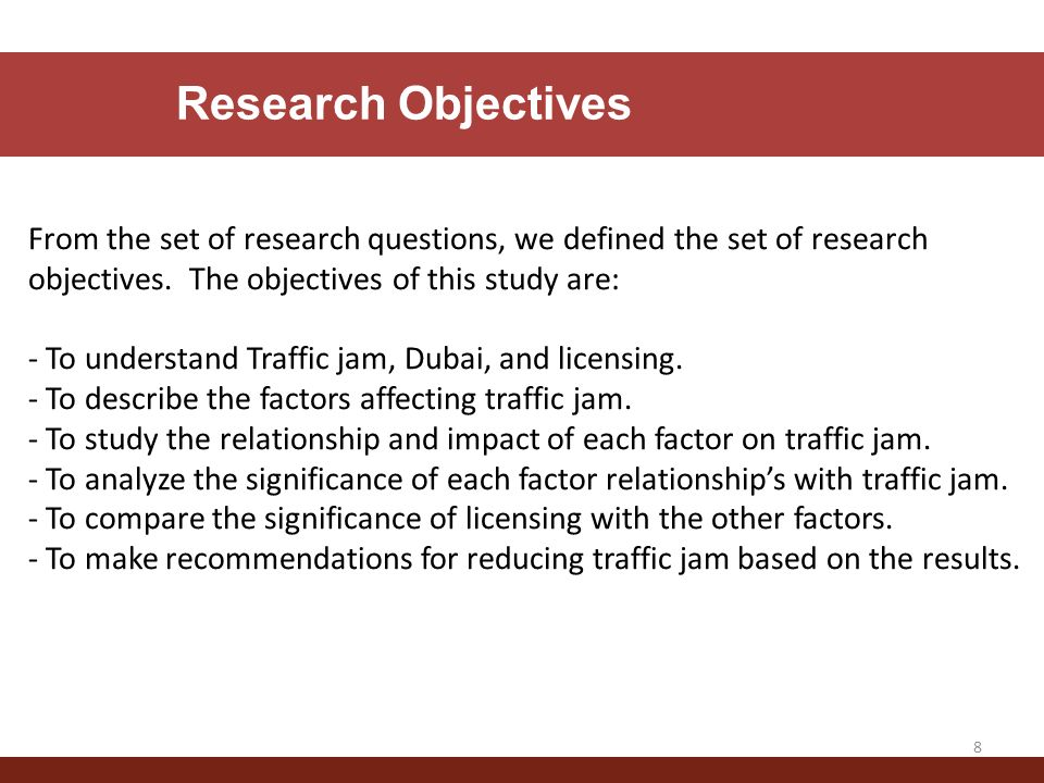 objectives in a research paper Understanding the difference between 'objective' and 'subjective' writing is objective vs subjective writing: when it comes to writing a paper.
