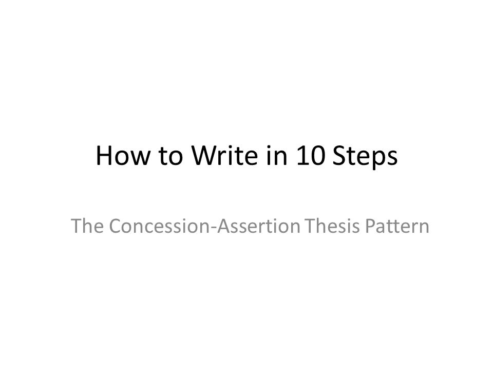 pattern of thesis A pattern of organizing speech points so that one idea leads to another, which leads to a third, and so forth until the speaker arrives back at the speech thesis working outline a preparation or rough outline that refines and finalizes the specific speech purpose, firms up and organizes main points, and develops supporting material.