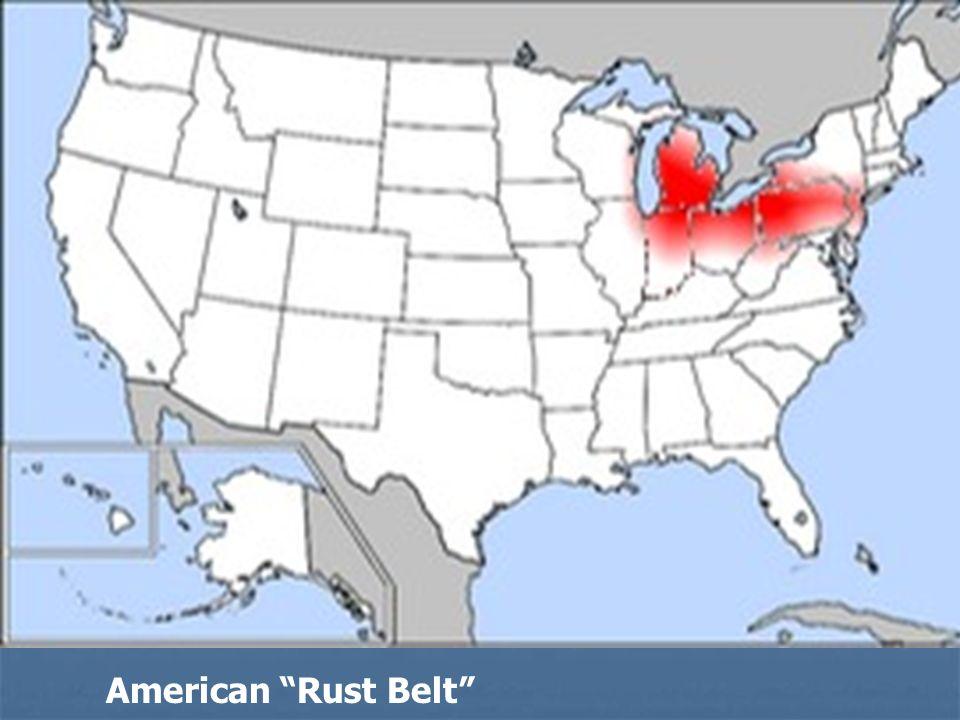 American Rust Belt