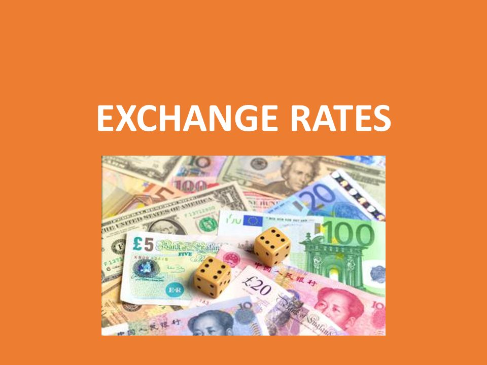 EXCHANGE RATES UNIT 26