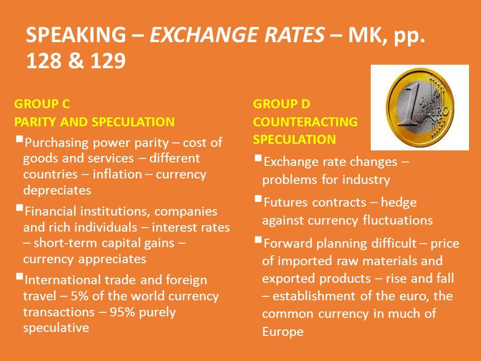 SPEAKING – EXCHANGE RATES – MK, pp.