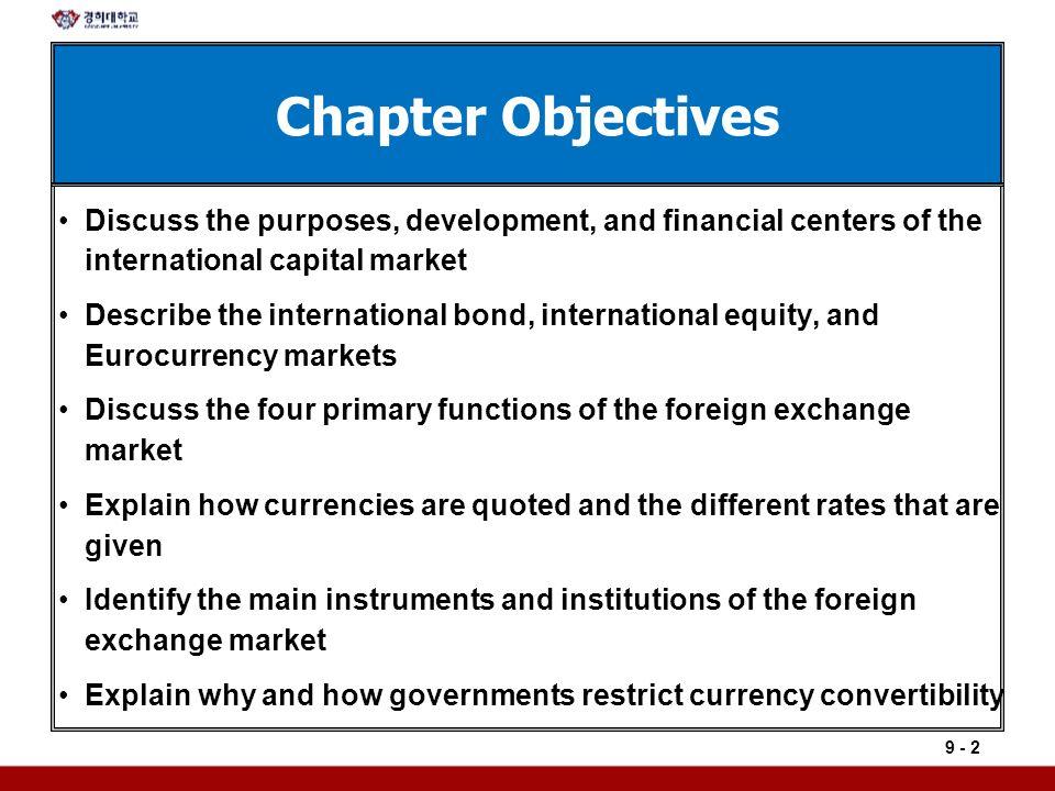 discuss primary purpose financial markets respect financia