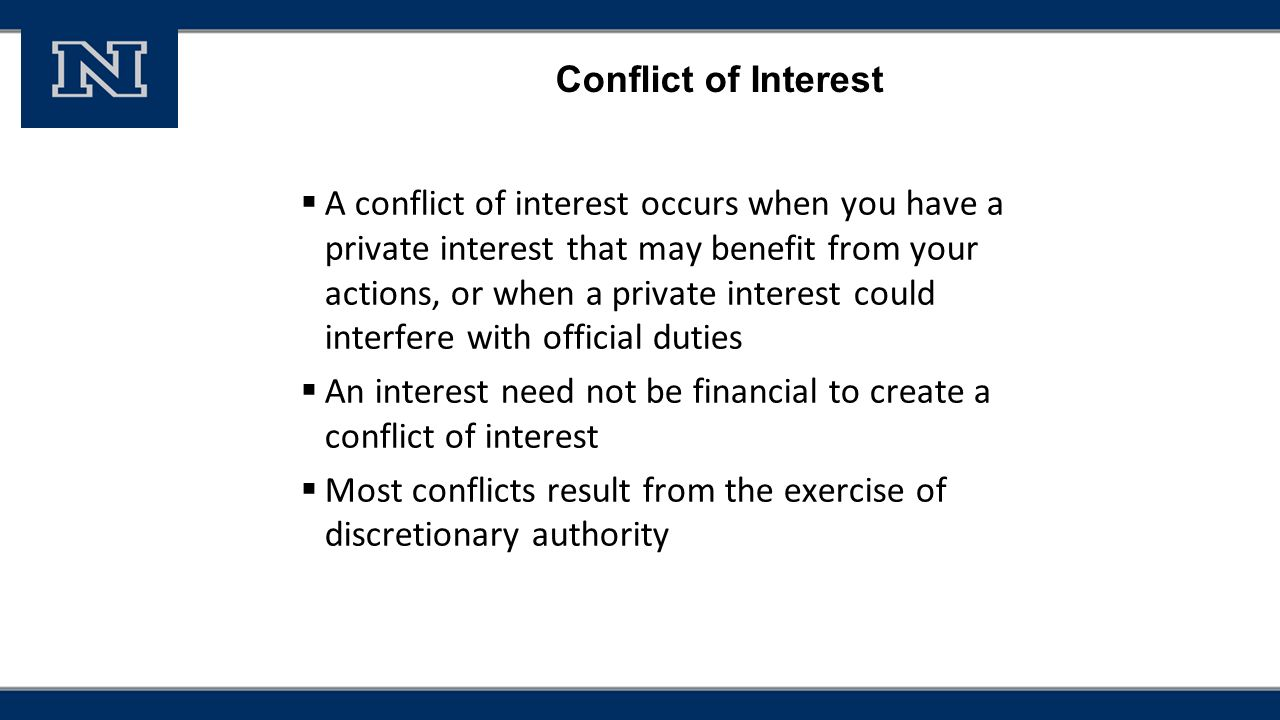 Conflict of interest responsible conduct of research training for 4 conflict xflitez Image collections