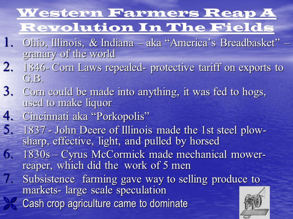 Western Farmers Reap A Revolution In The Fields 1.