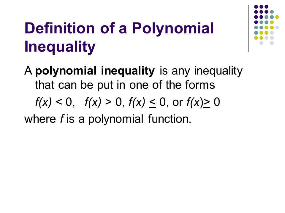 Polynomial Equation Definition Jennarocca – Polynomial Inequalities Worksheet
