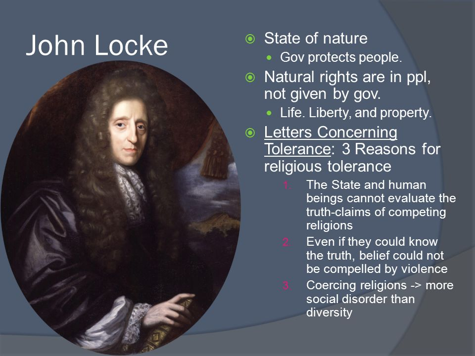 john locke state of nature essay Essays - largest database of quality sample essays and research papers on john locke human nature.