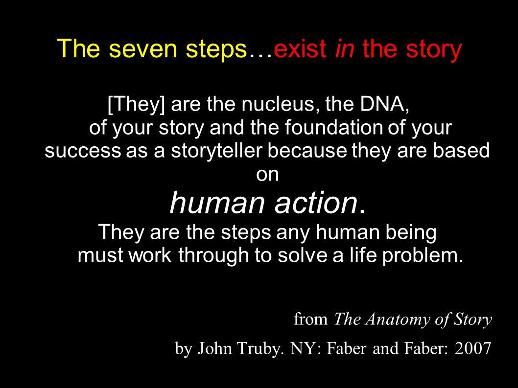 Vistoso The Anatomy Of Story By John Truby Galera Anatoma De Las