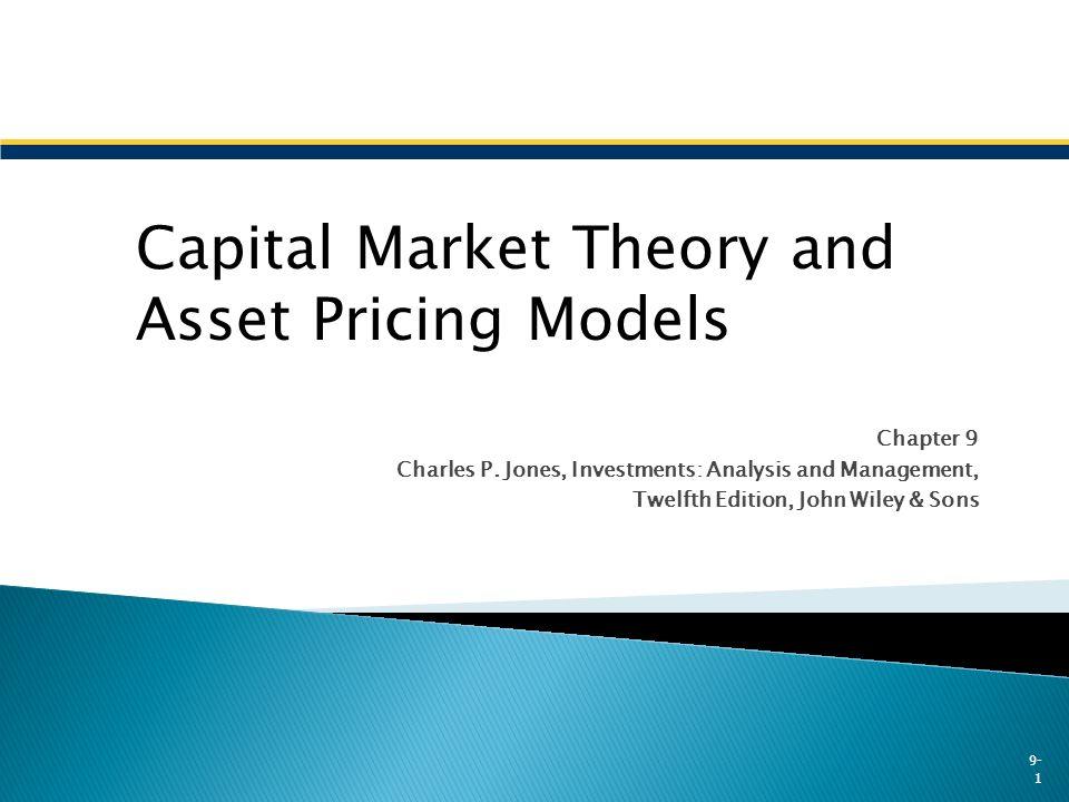 capital market theory