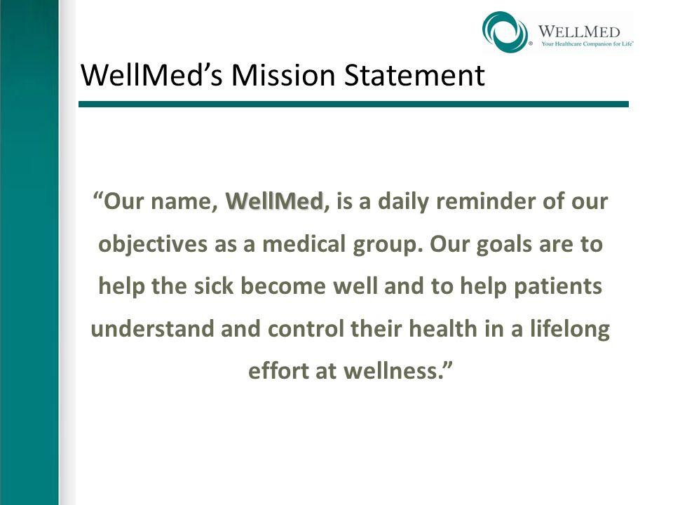 WellMed's Patient Centered Medical Home STFM Conference December 5 ...