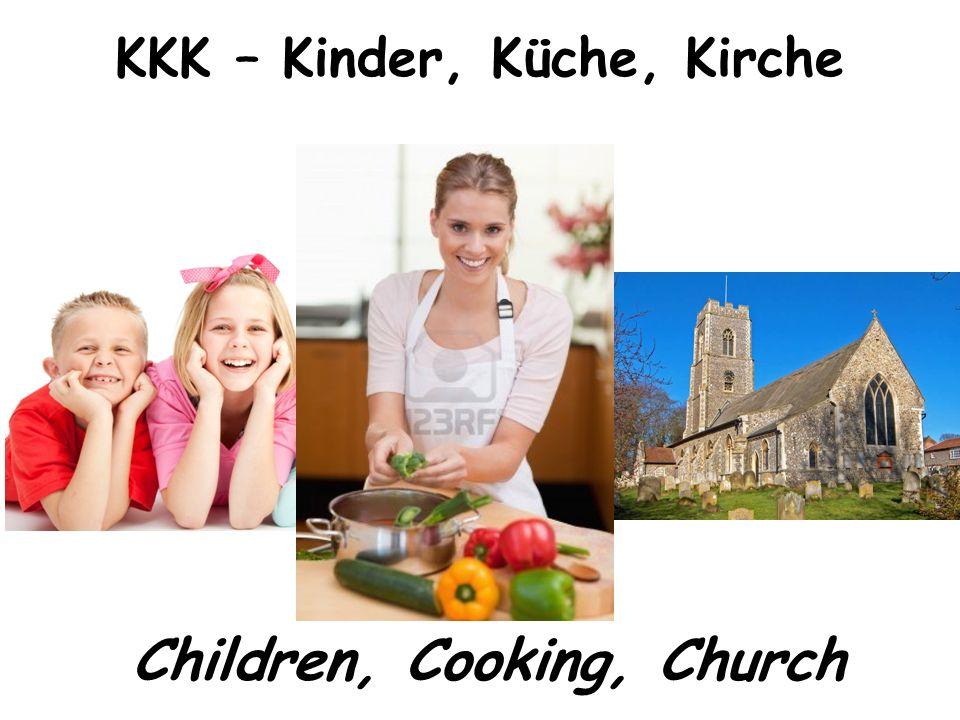 6 KKK U2013 Kinder, Küche, Kirche Children, Cooking, Church