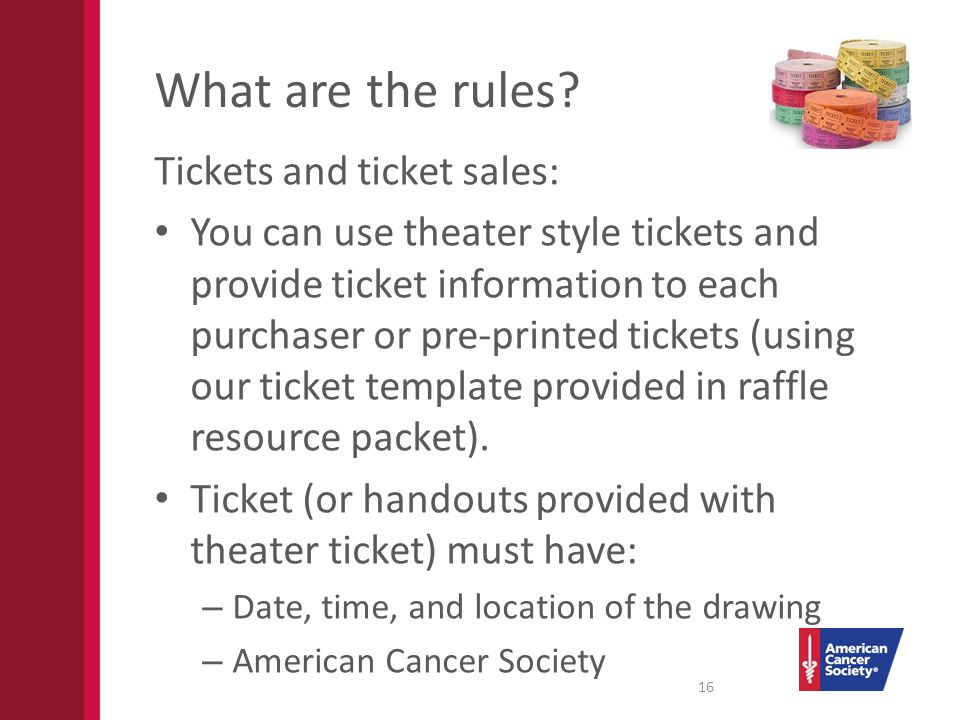 drawing tickets template
