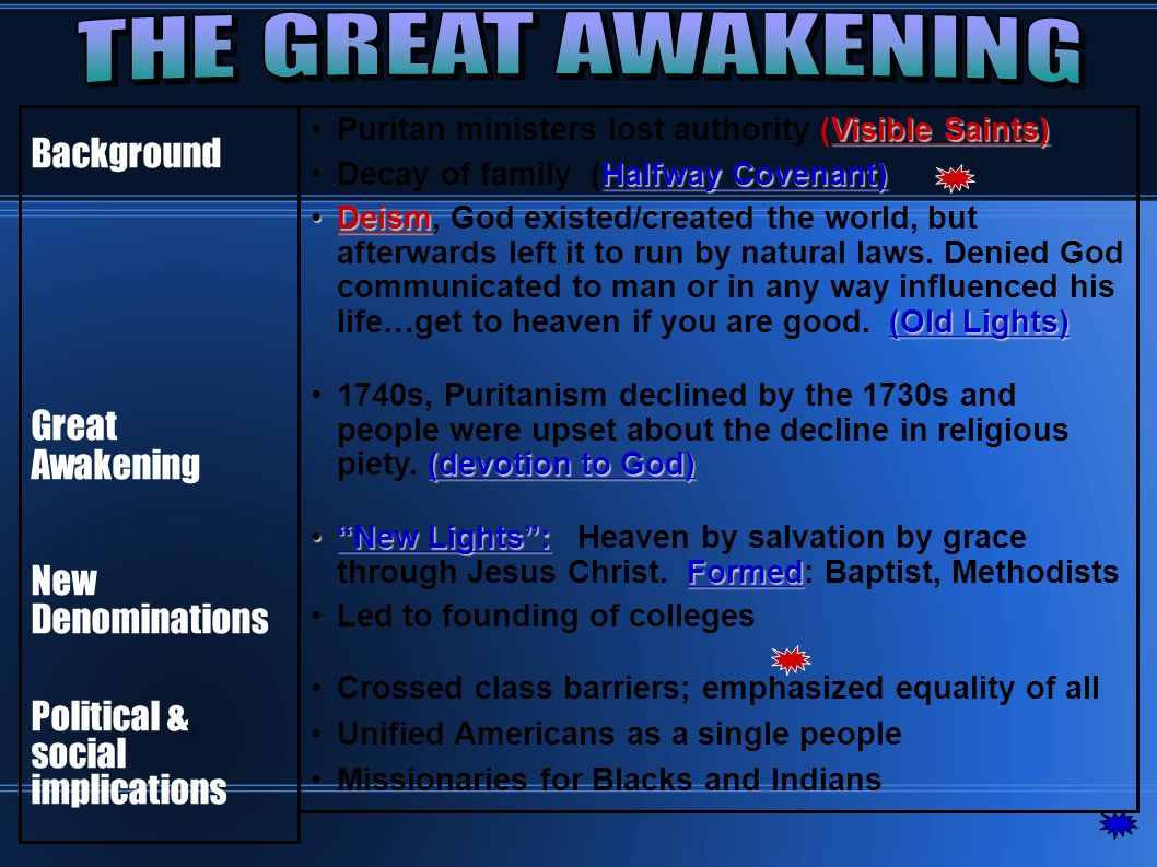 Enlightenment and the Great Awakening. The Enlightenment Overall ...