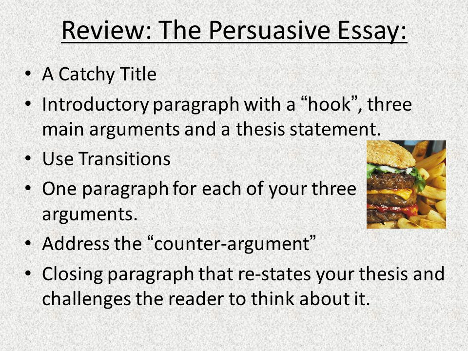 transitions for thesis statements The 3 t's: thesis statement, topic sentence, & transitional sentence thesis statement the central message of your essay: • establishes a boundary around the subject of the paper that helps keep the writer from.