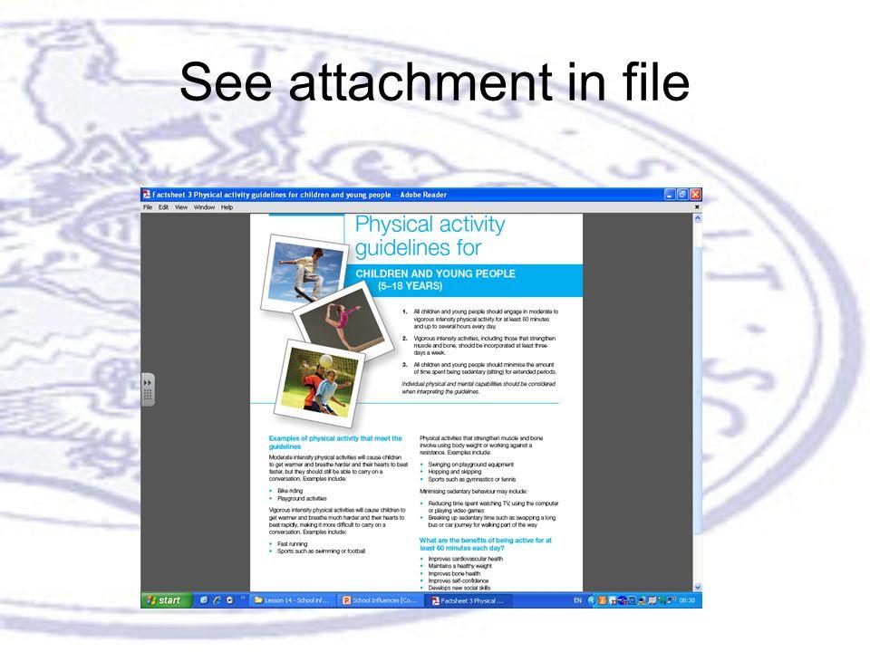 See attachment in file
