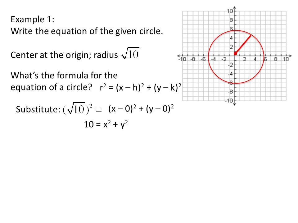 10 8 Equations Of Circles Worksheet Answers Tessshebaylo – Circle Equation Worksheet