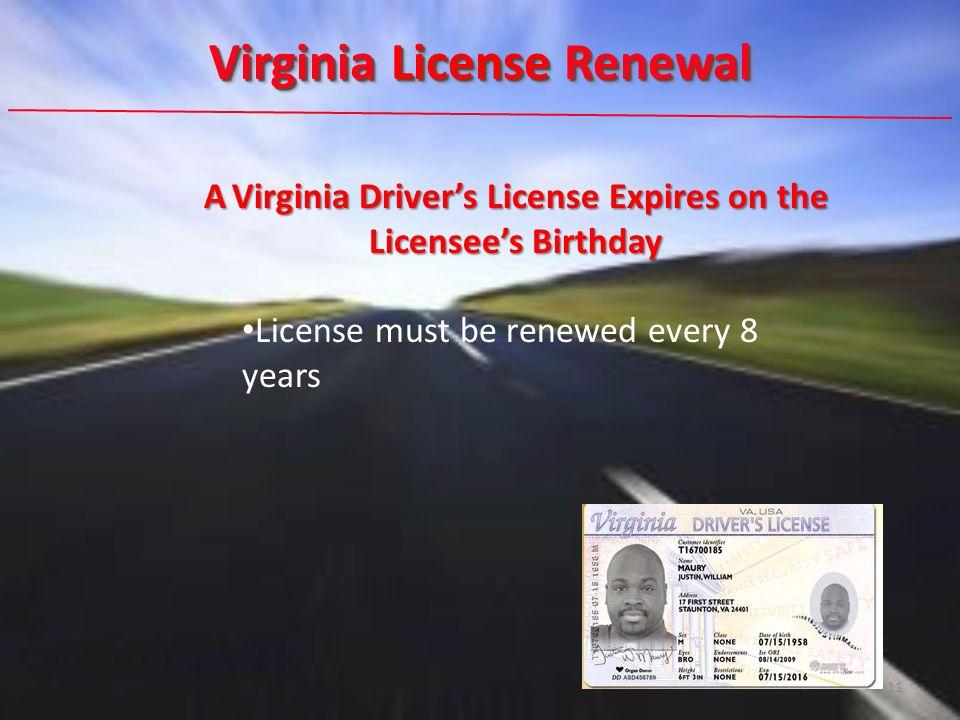 virginia dmv renew expired drivers license