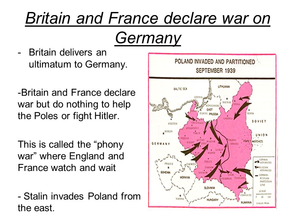 britain and france should also be blamed for world war ii The arguments over who started world war one the resulting war, with france and britain not germany's still, none of the powers can escape blame.