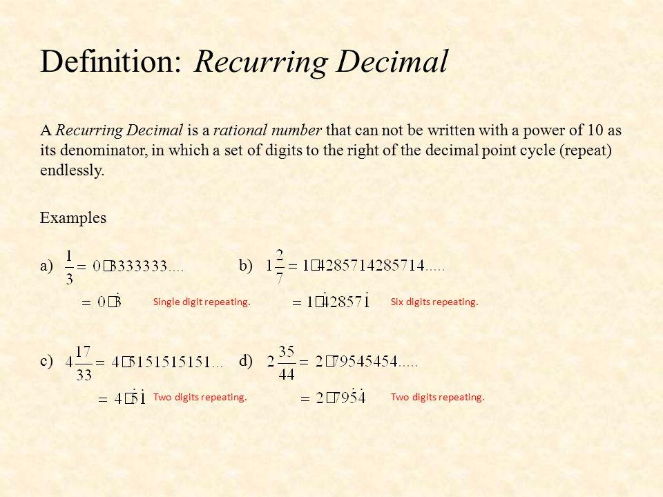 2 Definition: ...