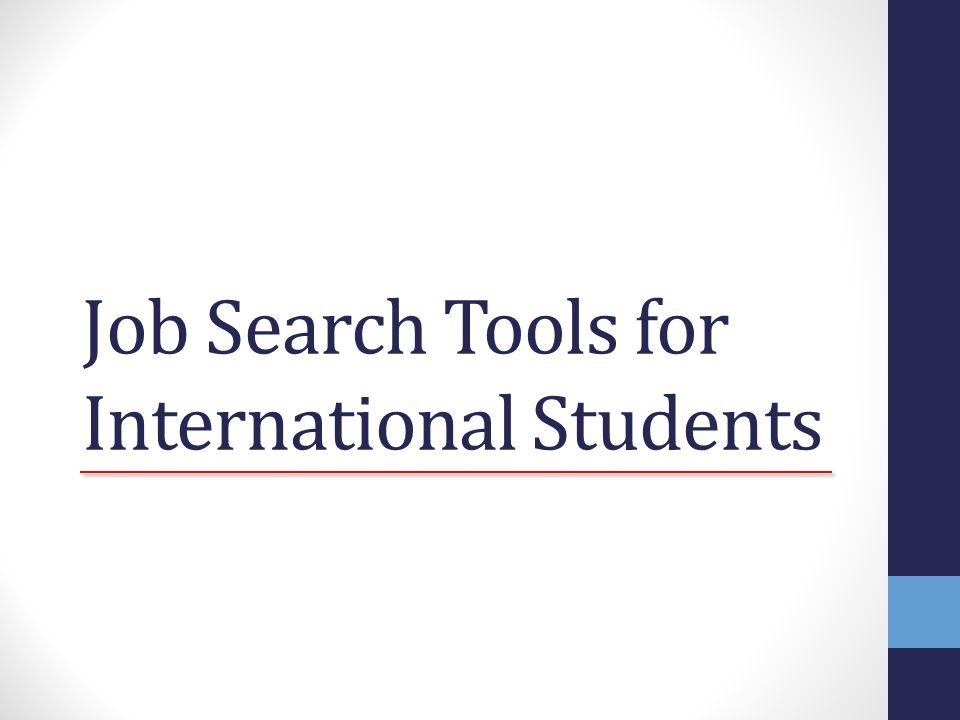 Job Search Tools for International Students R sum Cover Letter – Job Search Cover Letter
