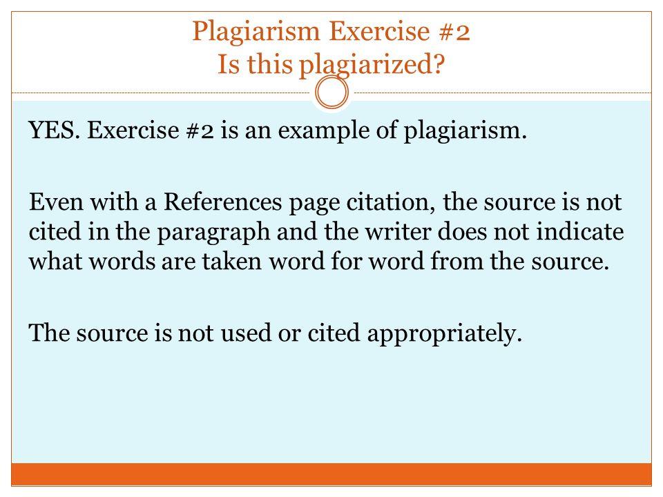 plagiarism exercise instructionsjghkjghj