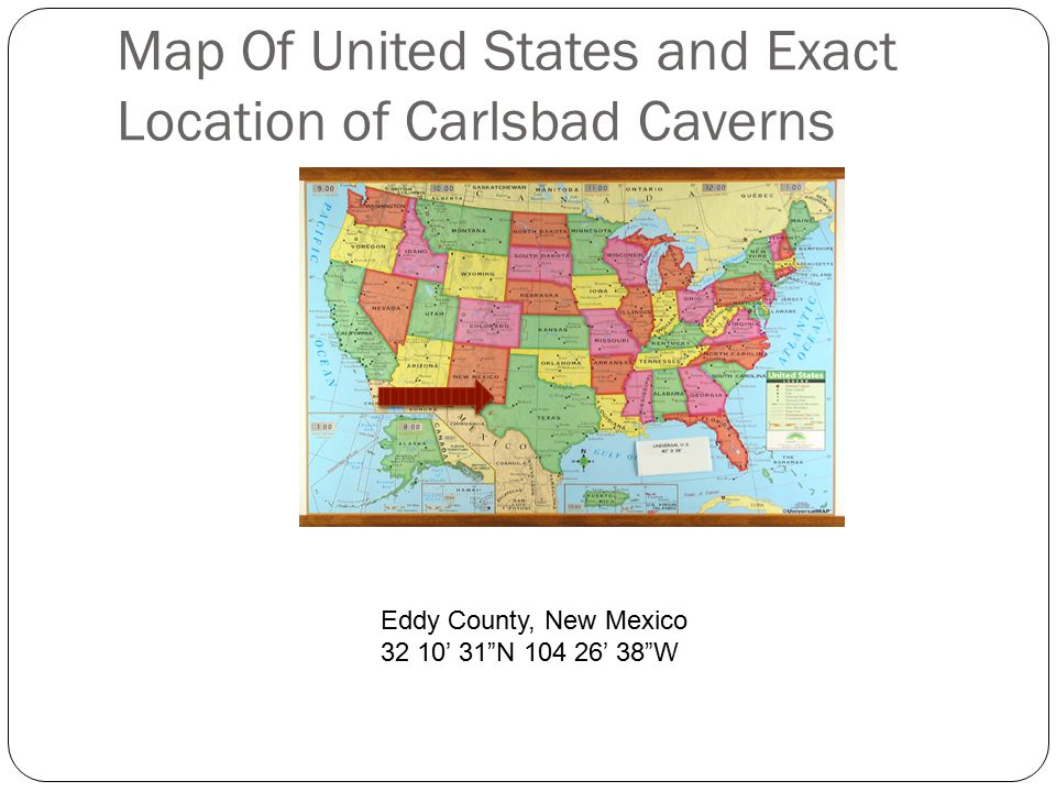 By Sam Ying Carlsbad Caverns National Park Topographic of Carlsbad