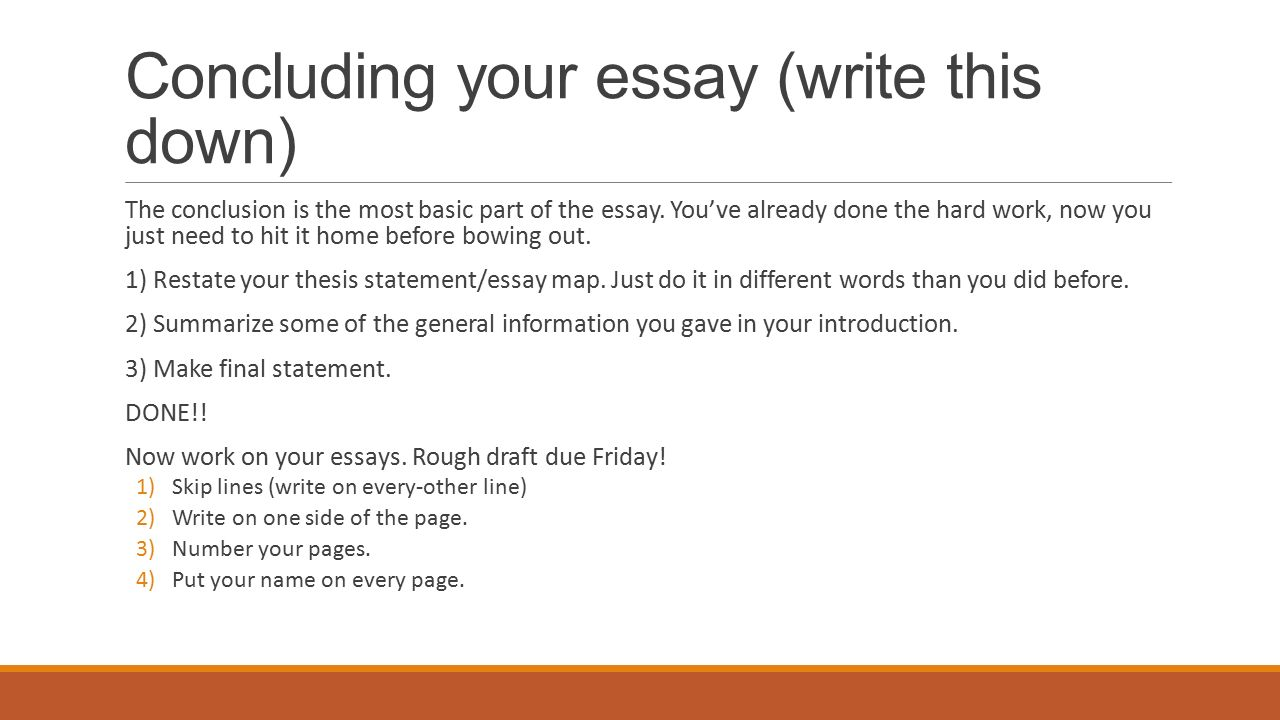 essays already done What's wrong with students reusing papers i wouldnt (and shouldnt) turn in a narrative essay that i had already written on a topic.