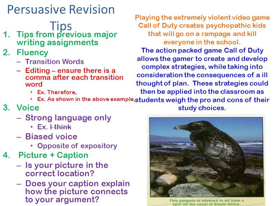 Can anyone edit my persuasive essay? >_<!?