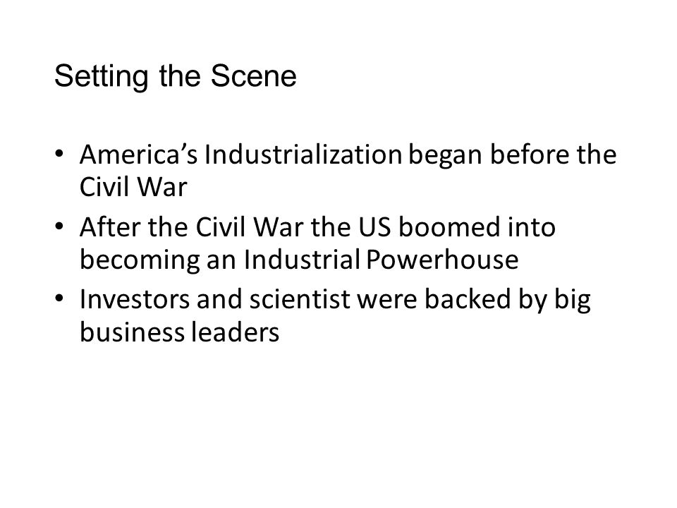 Industrialization After the Civil War pay someone to write your essay