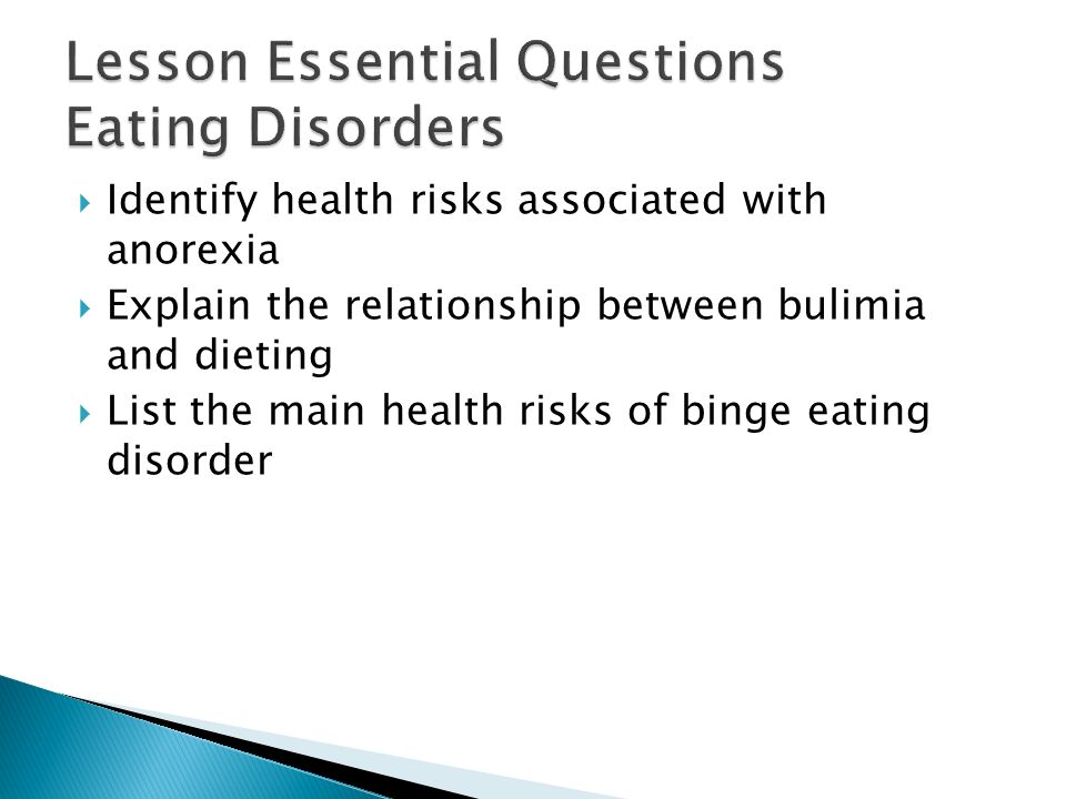 the relationship between obesity and eating disorders in america Obesity: is it an eating disorder one percent of the american public in most cases obesity represents a complex relationship between.