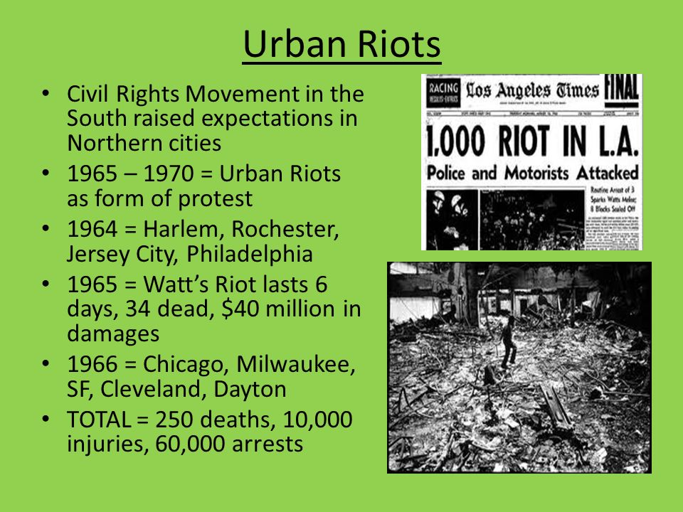 Civil Rights After I. Black Power Movement Rejected Dr. King's ...