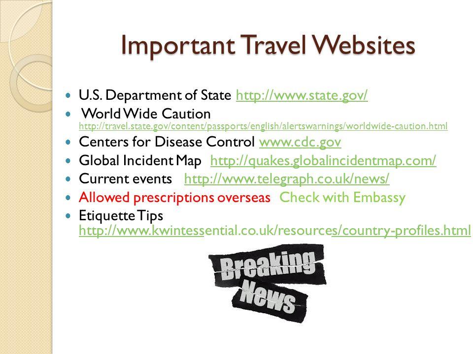 INTERNATIONAL TRAVEL SAFETY UNM INTERNATIONAL TRAVEL - Us safe travel map gov