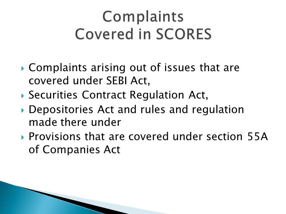 Cs sonu lakhani aeo icsi sebi has launched a centralized web 6 complaints platinumwayz