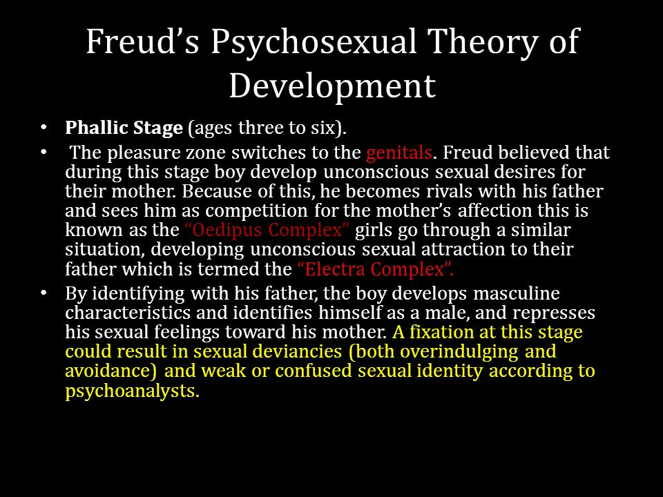 freud's psychosexual stages of development essay Freud's stages of psychosexual development this research paper freud's stages of psychosexual development and other 63,000+ term papers, college essay examples and free essays are available now on reviewessayscom.