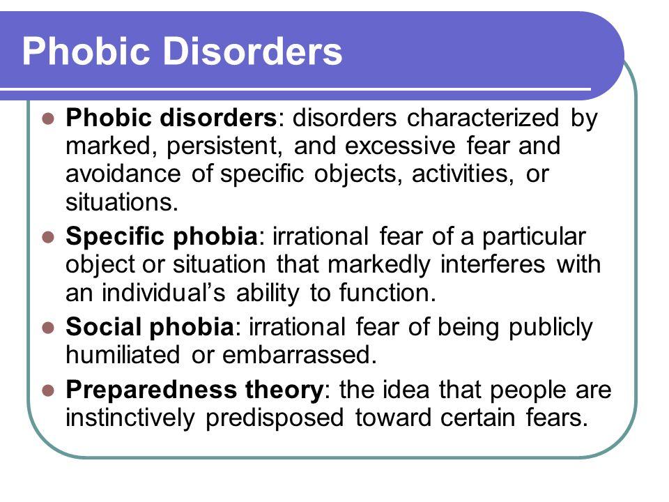 Preparedness theory of phobias australian dissertation thesis