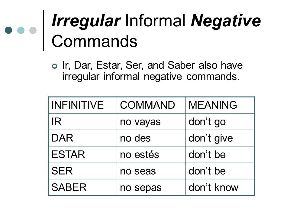 Informal Commands Exprésate 2 Capítulo 1 Gramática ppt download