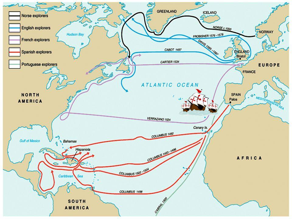 Columbus' Four Voyages - ppt download