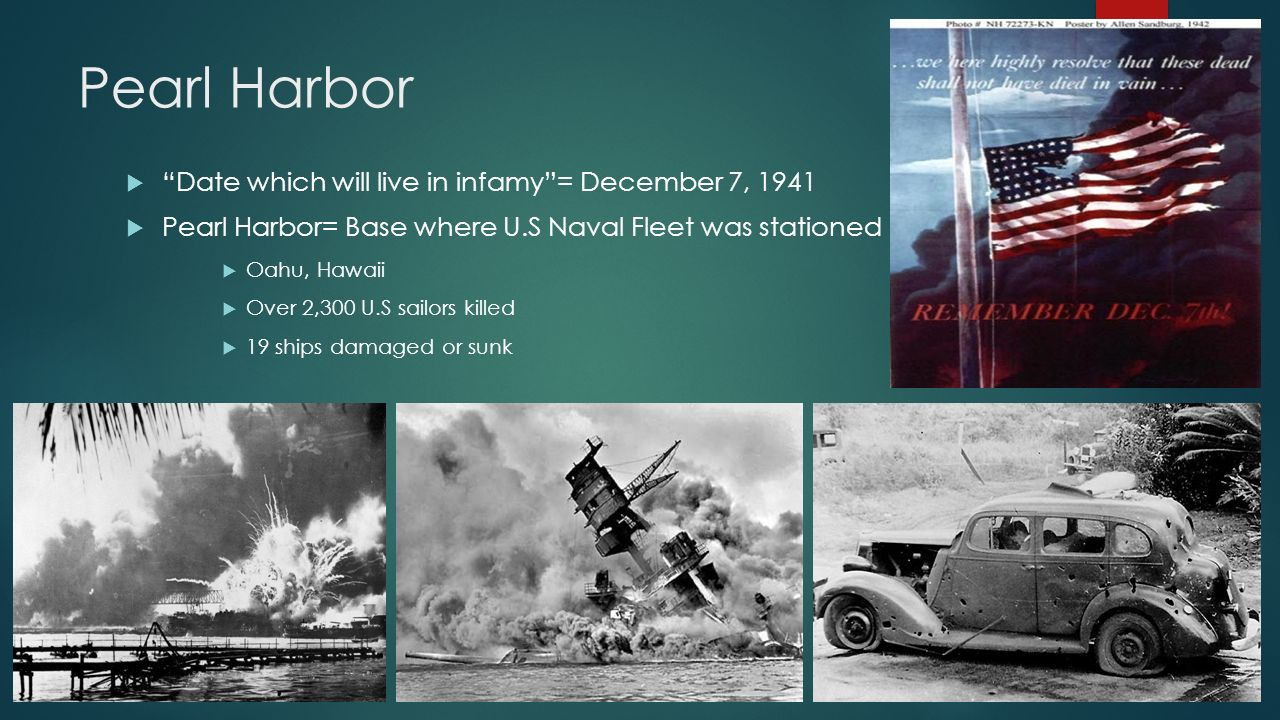 causes of pearl harbor Causes of pearl harbor there is no choice left but to fight and break the iron chains strangling japan (spector 76) admiral nagano osami gave this statement after finding no other way to resolve relations between the united states and japan.