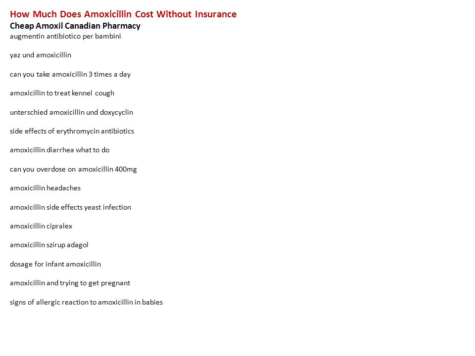 cost of amoxicillin clavulanate without insurance
