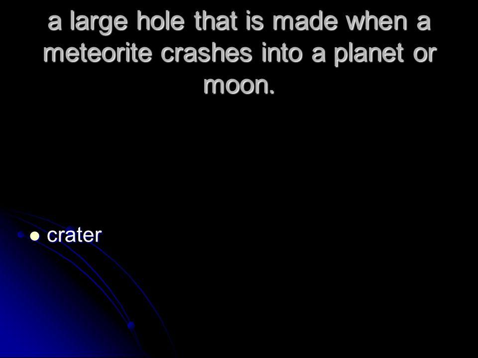 hole photo of solar system