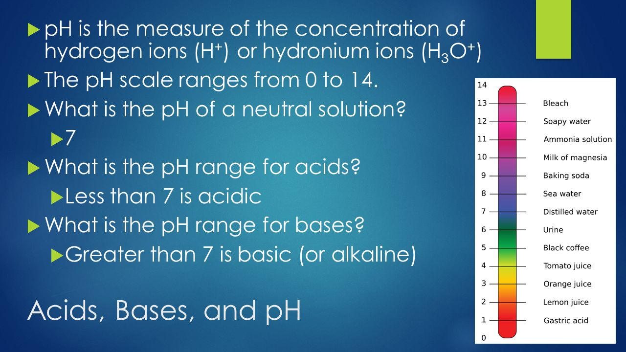 acids bases and p h scales essay Learn strong & weak acids and bases list using graphic organizers what is ph find out & create a ph scale chart with different levels of acidity & alkalinity.