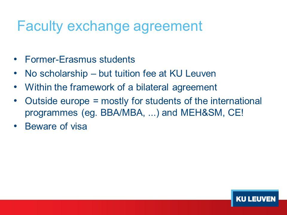 Exchange Programmes Kuleuven Campus Brussels Dirk G Van Waelderen