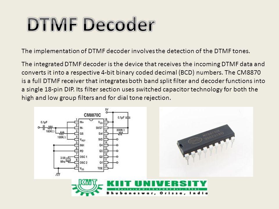 advantages of dtmf