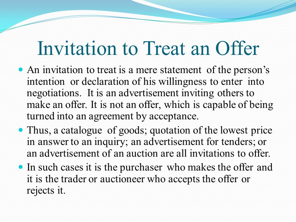 Invitation to treat case homework service invitation to treat case stopboris