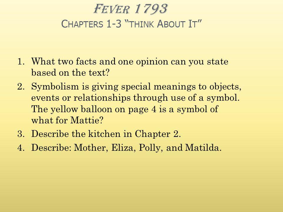 Fever 1793 Polly