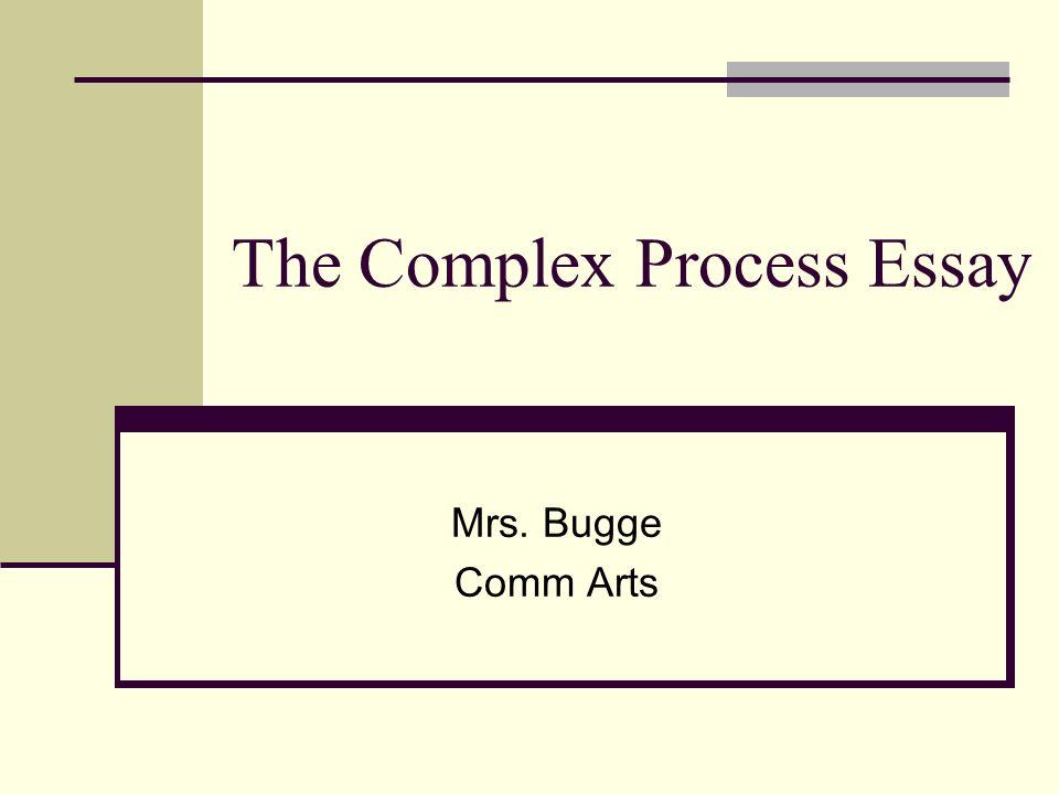 How To Write A Process Analysis Essay