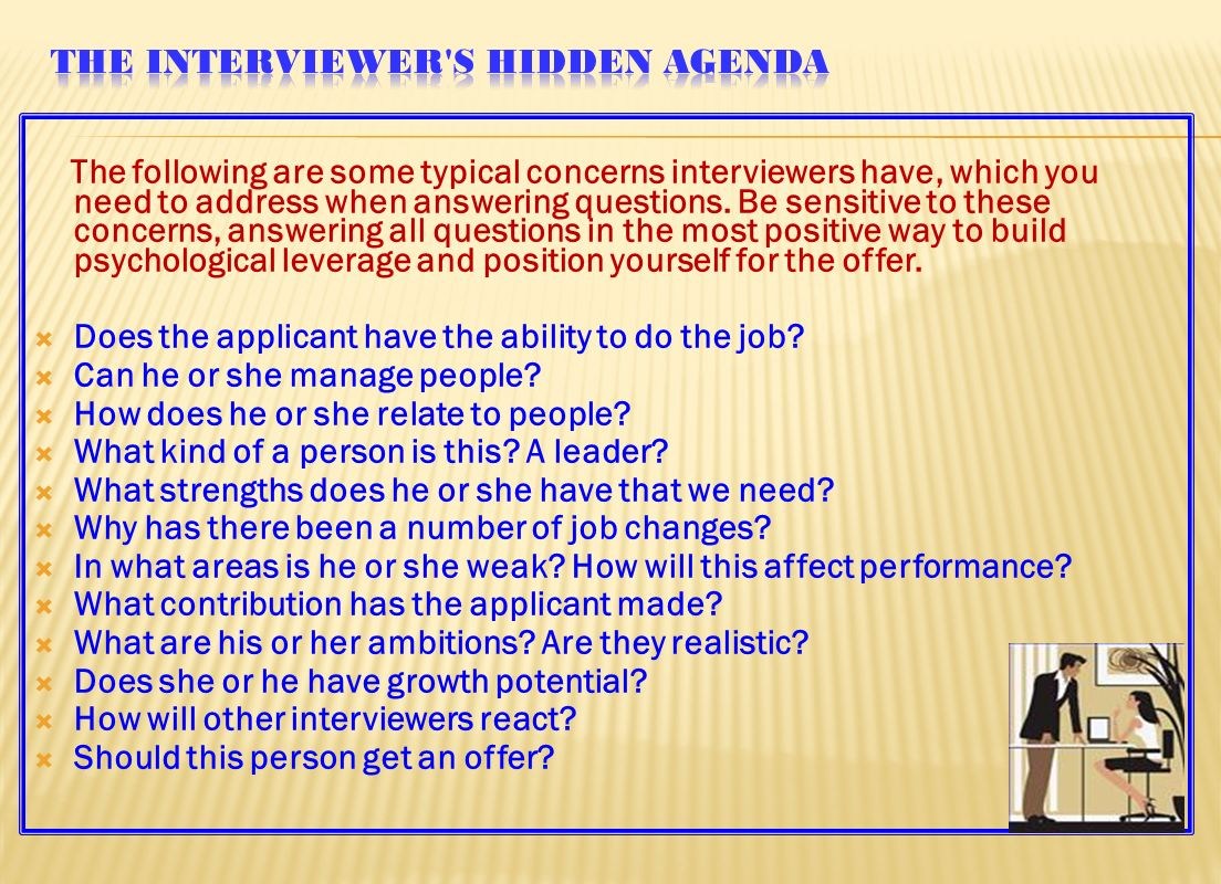 learning objectives preparing for a job interview talking the next day write the interviewer a brief note reiterating your interest in the job