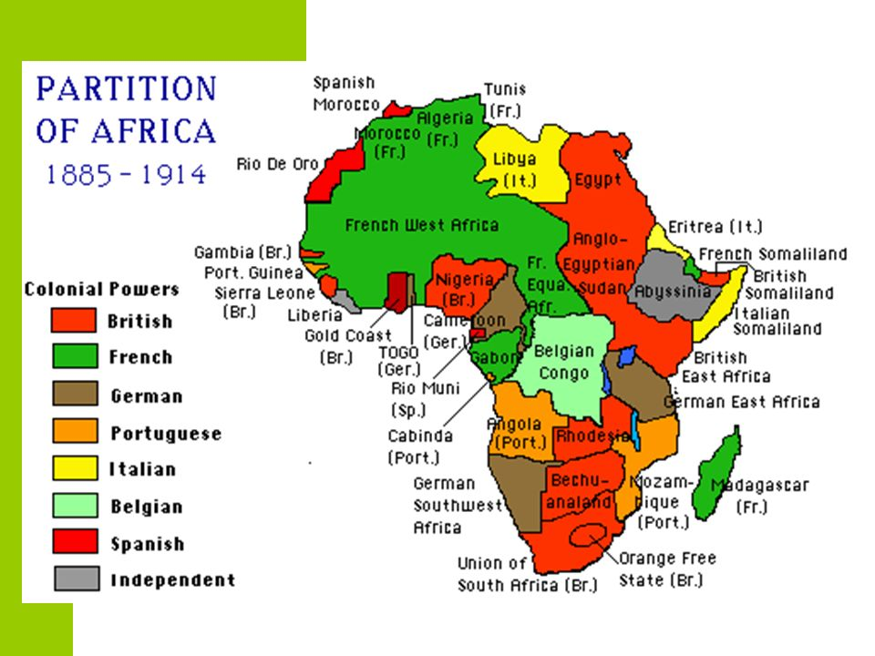 7 The Berlin Conference 1884 - In order to avoid war, the Europeans met in  Berlin, Germany European powers represented (no leaders from African  nations ...