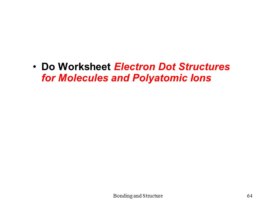 Electron dot diagrams and lewis structures worksheet answers 5 11