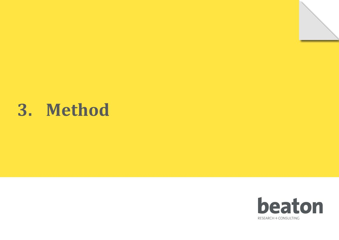 3.Method © 2010 Beaton Research and Consulting Pty Ltd