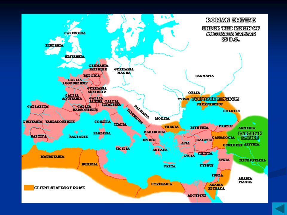 Roman History II The Roman Empire Historical Account Julius - Map of rome under caesar